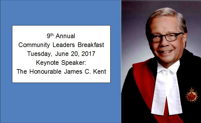 Join Us For the 9th Annual Community Leaders Breakfast